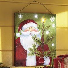 8 Hermosos adornos navideños con piezas de madera para colgar en la pared ~ Solountip.com