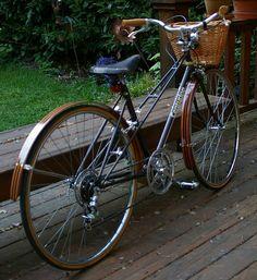 Centurion Mixte City Bike #2 by phil varner