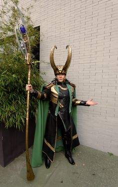King Loki Cosplay by Ephiria Costumes Photo: Odin Cosplaygraph