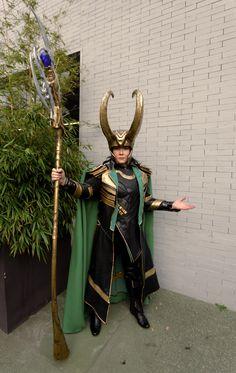 King Loki Cosplay by Ephiria Costumes Photo: Odin Cosplaygraph