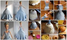 Cinderella Doll Cake | TheWHOot