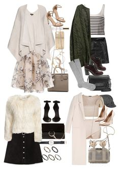 """""""Inspired outfits from Sex and the City"""" by nikka-phillips ❤ liked on Polyvore featuring Anne Klein, Marc by Marc Jacobs, Christian Dior, Marc Jacobs, Yves Saint Laurent, Chi Chi, rag & bone, Stuart Weitzman, Abercrombie & Fitch and Coach"""