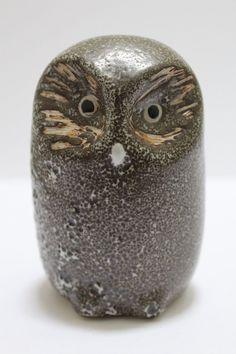 Pigeon Forge Pottery Glazed Owl