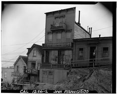 Telegraph Hill, 293 & 291 Union (March 1940)