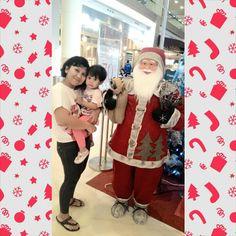 kongkow with santa claus @kota kasablanka