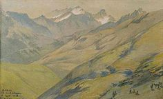 Wandering Silent Vertexes and Frozen Peaks: COL DU BONHOMME BY EUGENE VIOLLET-LE-DUC
