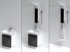 Modular Shower Unit by Hyun-Jung Lee & Su-Yong Son of Daelim B&Co