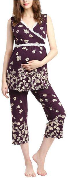 814a9d39da00b 30 Best Nursing Pajamas images in 2019 | Maternity Style, Nursing ...