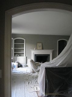 Getting ready for the house blitz. Ensuite, sons room and kitchen all in Farrow & Ball Hardwick White. Decor, House Colors, Bedroom Inspirations, Bedroom Colors, Home, Loft Spaces, Sitting Room Decor, New Homes, Lounge Decor