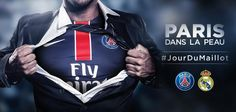 El PSG lanza la campaña #JourDuMaillot de cara a la visita del Real Madrid - La Jugada Financiera - La Jugada Financiera