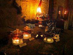 Międzyświąteczna degustacja herbaty w jednej z Sal Manor House.