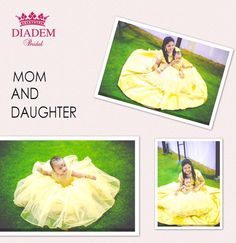 Our gorgeous client Ms.Lily Priya and her little Princess Aathmika in Diadem dresses! Lily chose to wear a simple Gold satin gown and the little one wore a full crystal embroidered ball gown in gold .!! Aren't they pretty!!! ✨ At Fairlady Ball gowns, A line gowns, mermaid gowns, empire waist gowns, ruffled gowns, colour gowns, so many patterns to choose from!! Available in all sizes too!! We have professional designers full time in our store to help you find the perfect gown of your dreams…