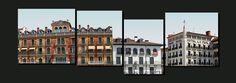 Fachadas en la plaza del Castillo 4/4 [06.2012]