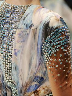 Detail of Alexander McQueen Spring/Summer 2010.