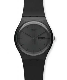 Swatch Watch Black Rebel
