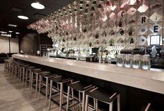 Soul Box restaurant/bar by a01 Architects, Vilnius, Lithuania