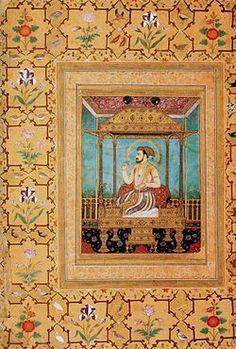 Enfin en le 31 juillet 1658, Aurangzeb s'installe sur le Trône du Paon, le symbole du pouvoir moghol. Le nom vient de la forme du trône, derrière lequel se tiennent les représentations de deux paons debout, parures déployées, le tout orné de saphirs, rubis, émeraudes,perles  de couleurs aptes à symboliser la vie. Le trône avait été créé pour l'empereur Moghol (Hindustani) Shah Jahan au xviie siècle, et était dans la halle d'audience publique (le Diwan-i-Am) dans sa capitale impériale, Delhi