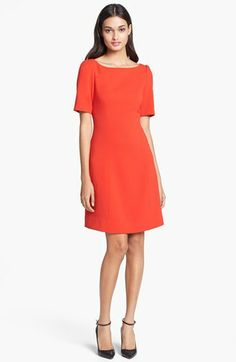 kate spade new york 'kylie' stretch a-line dress available at #Nordstrom