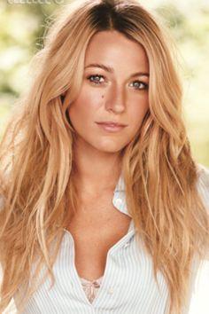 Blake Lively blonde sunkissed