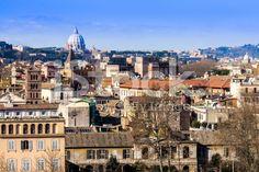 #Cityscape of #Rome royalty-free stock photo