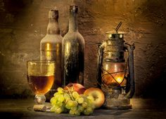Still Life Photography - vintage wine, by Mostapha Merab Samii on Still Life Photography, Vintage Photography, Art Photography, Light Of The World, Light In The Dark, Photo Fruit, Fall Vignettes, Still Life Flowers, Still Life Oil Painting