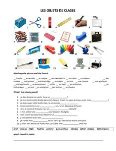 dans ma trousse classroom objects in French French Flashcards, French Worksheets, French Teaching Resources, Teaching French, Learning Resources, Learning Spanish, Teaching Ideas, French Education, Core French
