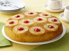 Pineapple Upside Down Cake [Sponsored by Dole]