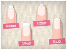 Consejos para elegir la mejor forma para tus uñas