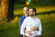 Sweet engagement shoot. #gay #weddings