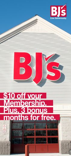 Sign up now for just $40 for 15 months - that's 20% off and 3 bonus months. And save up to 25% off grocery store prices.          http://www.bjs.com/webapp/wcs/stores/servlet/MemberEnroll?storeId=10201&catalogId=10201&langId=-1&errorView=QuickMemberContact&memJoinNow=Y&isQuickMbrShip=true&URL=MemberEnroll&memberType=innercircle&isRewards=N&marketCode=SFSP15&cm_mmc=SpringMAP2017-_-SocialFulcrum-_-Pinterest-_-4015&utm_source=Pinterest&utm_medium=30.5P