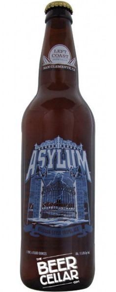 Buy Left Coast Asylum Belgian-Style Tripel Ale (650ml Bottle) Beer online in Australia - http://www.kangadrinks.com/buy-left-coast-asylum-belgian-style-tripel-ale-650ml-bottle-beer-online-in-australia/ #Australia #beer #wine #foster