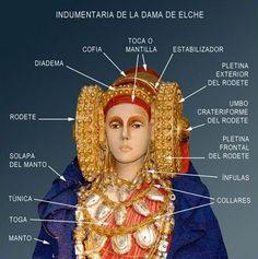 Кельтская богиня с сосудом из евразийских степей и ее испанский след - Ювелирные украшения мира