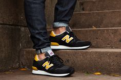 NEW BALANCE 670 (BLACK AND YELLOW PACK) - Sneaker Freaker