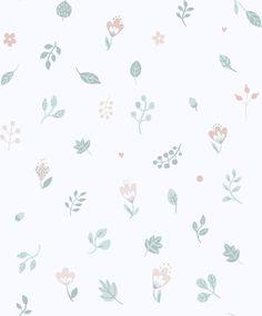Sandberg Hillevi Cream / Pink Wallpaper main image