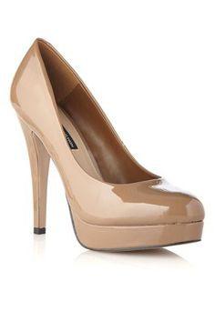 The perfect nude heel. I've been wanting a pair for a long time! You can wear it with any color and it makes your legs look longer.