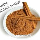 Clear Blackheads with cinnamon