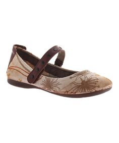 Another great find on #zulily! Mushroom Brea Mary Jane Flat #zulilyfinds