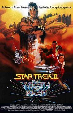 Star Trek II: The Wrath of Khan Movie Poster 11x17 – BananaRoad