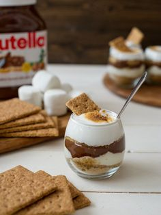 Nutella S'mores Parfaits