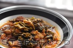 Is it really stew season already? but there is an early Fall cold going around, and a nice spicy stew was just what we needed to batt. Spicy Stew, White Beans, Chorizo, Kale, Beef, Food, Collard Greens, Meat, Kidney Beans