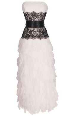 #wedding #dress #black #lace