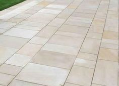 INDIAN SANDSTONE Natural paving - smooth sawn mint patios- Nationwide deliveries