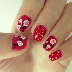 Chinese New Year Nails | #chinesenewyear #nailart #nails