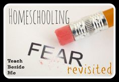 I know most people choosing to homeschool struggle with many of these same fears, so I thought I would touch on them and how I got past them...