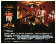 """""""Sgt. Pepper's Lonely Hearts Club Band"""" lobby card, 1978."""