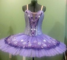 """Shades of Purple - 15"""" - 12 layer hooped classical ballet tutu"""