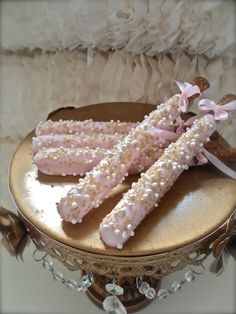 Edible Wedding Favors Chocolate Dipped Pretzel by FrosttheCake, $21.00