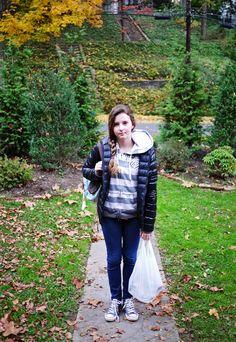 Bianca going to school #3