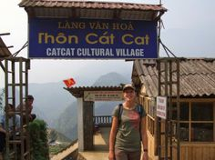 Cat Cat village in Sapa