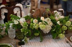 Virtu floral design- Southern vintage stemware at VINEWOOD WEDDINGS AND EVENTS OPEN HOUSE | Evie Perez Photography